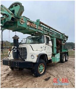 1979 Chicago Pneumatic reichdrill T 650ws Drill Rig