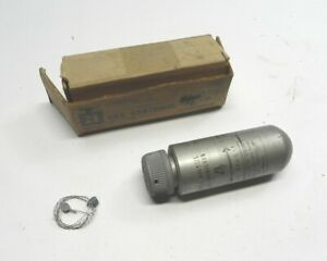 Vintage Ansul Gas Cartridge For 4 Lb Fire Extinguisher With Wire For Sealing