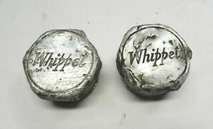 1920 s Whippet Hub Cap Axle Grease Covers Pair Used