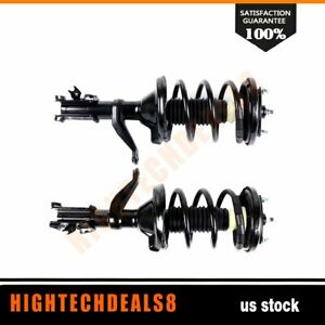 Fits 2003 2011 Honda Element Front Complete Struts Gas Shocks Coil Springs 2
