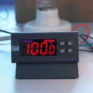 Relays Fahrenheit 110v Thermostat Incubation Temperature Controller Switch