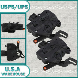 2 Door Lock Actuator Rear Left Right Side For Dodge Chrysler Town Country Set