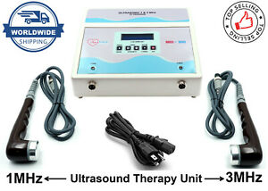 New Physio Ultrasound Ultrasonic 1 3mhz Therapy Chiropractic Pain Relief Machine