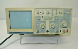 Bk Precision 20 Mhz Oscilloscope Model 2120 Dual Trace Oscilloscope Tested