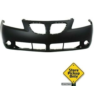 Fits Pontiac G6 2005 2009 New Front Bumper Primed Local Pickup Gm1000731