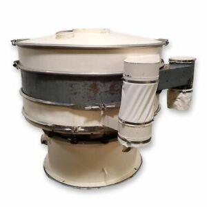 Used 48 Sweco Double Deck Vibratory Screener Sifter Shaker Separator