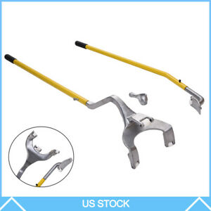 Tire Changer Tire Mount Demount Tool Tools Tubeless 17 5 To 24 5 Yellow