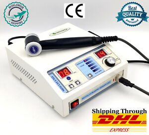 Portable Chiropractic Unit Ultrasound Therapy Machine For Pain Relief With 1 Mhz