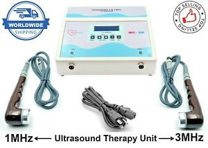 Ultrasound Ultrasonic Therapy Machine For Pain Relief 1 3 Mhz Chiropractic Unit
