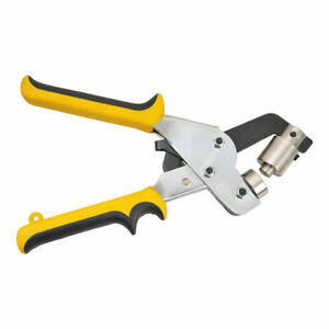Eyelet 4 10 5mm Hole Puncher Hand Press Grommet Punching Tool