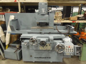16 X 32 Okamoto Surface Grinder Model Psg 84 Fully Automatic Coolant
