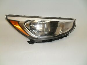 2012 2013 2014 Hyundai Accent Passenger Right Side Halogen Headlight Oem M0921