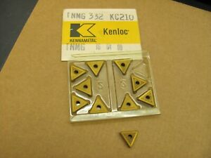 Kennametal Kenloc Carbide Inserts Tnmg 332 Grade Kc210 10 Pcs New Open Box