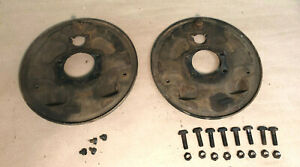 1965 1968 Other Ford Mustang 6 Cyl 4 Lug L Rh Rear Brake Backing Plates Bolts