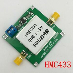 Hmc433 8ghz Frequency Divider 4 Frequency Division Microwave Prescaler 150dbc
