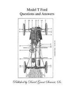 Model T Ford Questions Answers Book Service Operation By Ford Motor Co New