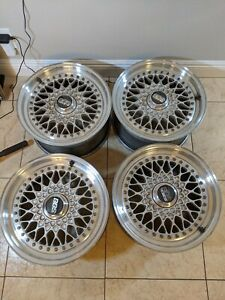 4x Mercedes Bbs Rs 133 Rs133 16x8 Et21 Original And Never Separated