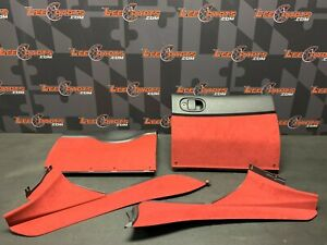 2004 Pontiac Gto Oem Red Glove Box Knee Panel Console Side Trim Red