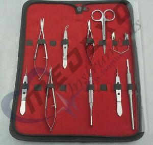 Eye Micro Minor Surgery Veterinary Ophthalmic Surgical Instruments