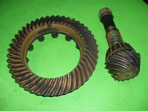 95 Dodge Ram Dana Spicer 80 Rear Differential Gears 3 55 3 54 Ratio Ring Pinion