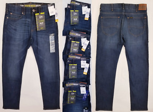 LEE Performance Series Mens Jeans Extreme Motion MVP Slim Fit Tapered Aristocrat $29.99