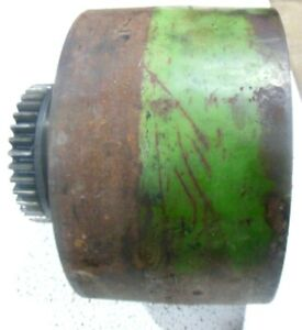 Used John Deere Unstyled A Tractor Clutch Belt Pulley A17r Aa3570r