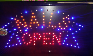 Nail Neon Led Sign Open beauty Salong nail Store business Sign window Sign