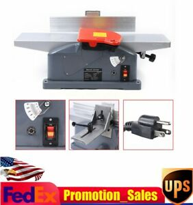 6in Benchtop Jointer 1280w 10a 50hz Adjustable Jointers For Woodworking