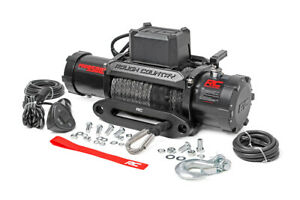 Rough Country Pro Series 9500 Winch With Synthetic Line Pro9500s Same Day Ship