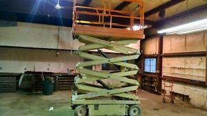 26 Ft Jld Electric Scissor Lift