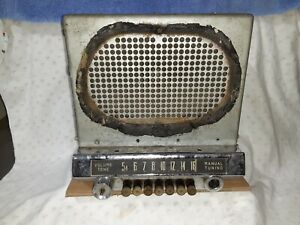 1950 Studebaker Commander Champion Am Push Button Radio Stratoline