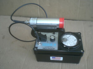 Nds Nd 200p Geiger Counter Radiation Detector Survey Meter