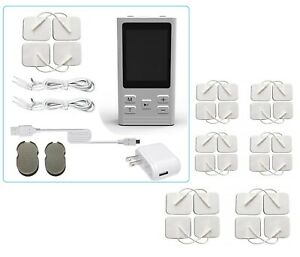 Tens Unit 6 Mode Massager Pain Relief Ache Sciatica Pms Ems Fda Pin Electrodes P