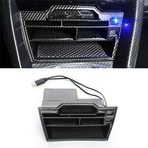 Car Accessories Interior Console Storage Box With Usb For 2016 2020 Honda Civic