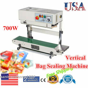 Stainless Steel Cbs 730i Vertical Horizontal 110v Continuous Band Bag Sealer