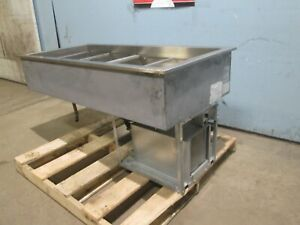 randell Hd Commercial nsf Ss Refrigerated 4 Pans drop in Cold Well Insert