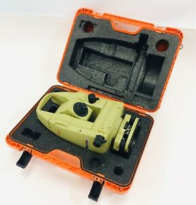 Leica Wild Tc500 Total Station For Surveying Comes With Carrying Case