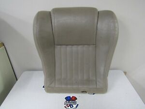 1993 2002 Trans Am Oem Front Lower Leather Seat Cover Wth Foam Rh Tan F7