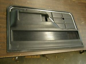 Oem Ford 1973 1979 Truck Door Panel Trim Blk 1974 1975 1976 1977 1978 F150 F100