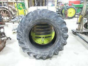 Used 18 4 30 Goodyear 6 Ply Tractor Tire local Pick Up No Shipping