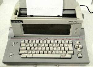 Smith Corona Pwp 77d Personal Word Processor Typewriter W All Manuals