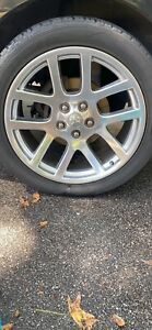 Dodge Genuine Factory Srt Rims 22 With Tires
