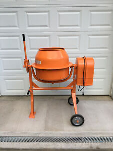 Central Machinery 3 1 2 Cubic Ft Cement Mixer Local Pickup Only