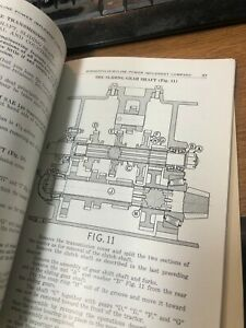 Minneapolis Moline Rt Tractor Operator s Instruction Manual And Parts Catalog Rw