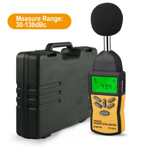 Btmeter 30 130 Db Digital Sound Level Meter Lcd Handheld Noise Tester Set 882a