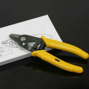 Wire Cutter Stripper Tools Coating Pliers Electrical Cable Fiber Optic