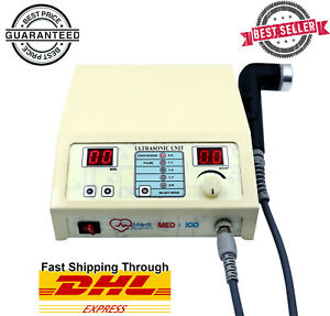 1 Mhz Portable Ultrasound Therapy Machine Pain Relief Ultrasonic Massager Unit