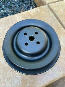 1969 1970 Mustang Shelby Mach 1 428cj 428scj C8ae 8509 C Water Pump Pulley Mint
