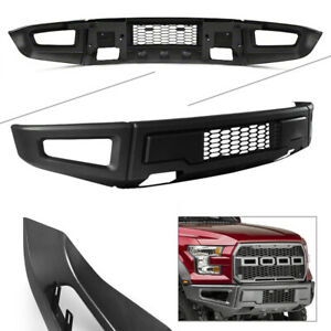 Car Raptor Style Grey Steel Front Bumper Assembly Kit For Ford F 150 2015 2018