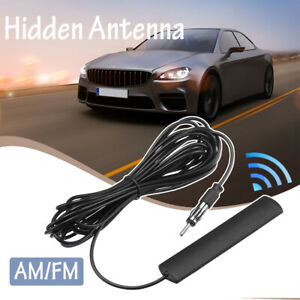 Car Boat Radio Stereo Hidden Antenna Stealth Fm Am For Vehicle Truck Motorcycle